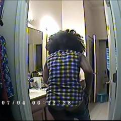 Unaware Wifey Getting Dressed! - Ebony, Brunette, Wife/Wives