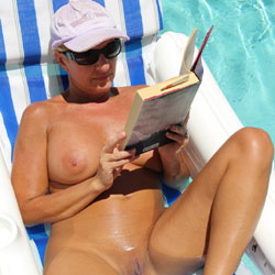 Starla Likes To Sunbathe Nude - Big Tits