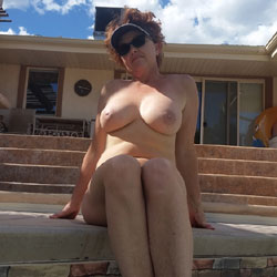 Pool Fun - Big Tits, Close-Ups, Outdoors