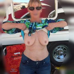 Camping - Big Tits