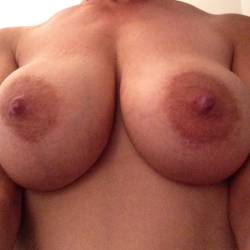 Large tits of my wife - Mystery