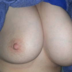 Small tits of my wife - Amanda