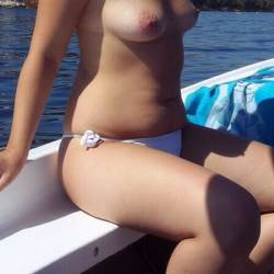 Small tits of my wife - Andrew