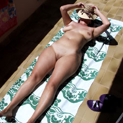 Naked Wife Under The Sun - Big Tits, Full Nude, Lying Down, Shaved Pussy, Hairless Pussy, Hot Girl, Hot Wife, Nude Wife, Sexy Body, Sexy Boobs, Sexy Figure, Sexy Legs, Sexy Wife, Wife Pussy, Wife/Wives