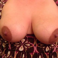 Large tits of my wife - My wife