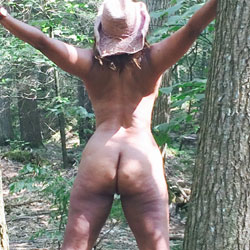 Nude In The Woods - Nature