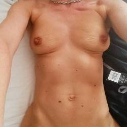 Medium tits of my girlfriend - claire