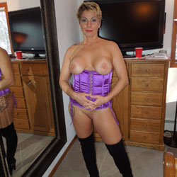 Short Hair Blonde In Corset And High Boots - Big Tits, Blonde Hair, Boots, Firm Tits, Flashing Tits, Flashing, Indoors, Perfect Tits, Shaved Pussy, Short Hair, Showing Tits, Hairless Pussy, Hot Girl, Sexy Body, Sexy Boobs, Sexy Face, Sexy Legs, Sexy Lingerie