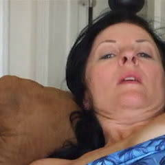 Throatfucking - Brunette, Cumshot