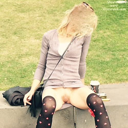 Random  - Blonde, Public Exhibitionist, Public Place