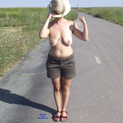 One Day On The Road - Big Tits, Wife/Wives