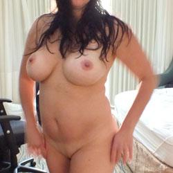 Hotel Room Tease - Big Tits