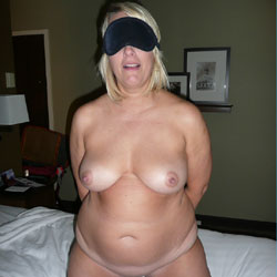 Tied And Always Open - Big Tits, Blonde
