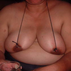 Very large tits of my girlfriend - Teresa