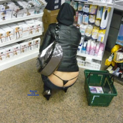 Thong - Public Exhibitionist, Public Place