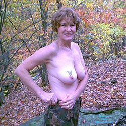 Hunting Outfit - Big Tits, Nature