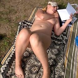 Nude Near The River