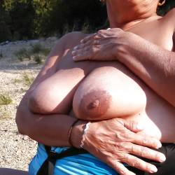 Large tits of my wife - karentits
