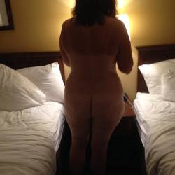 My wife's ass - Justine