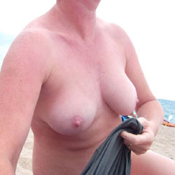 Susanna On The Beach - Beach, Big Tits