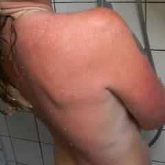 Dutch Milf Taking A Hot Shower