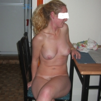 Naked at Home - Blonde, Teens, Bush Or Hairy