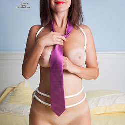 Angelica Tied Up And Fucked! - Big Tits, Shaved, Toys