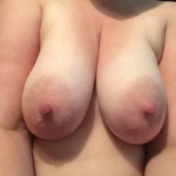 Very large tits of my girlfriend - nurse_slut