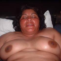 Large tits of my girlfriend - teresa