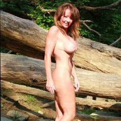 River Fun - Shaved, Nature, Big Tits, Wife/Wives