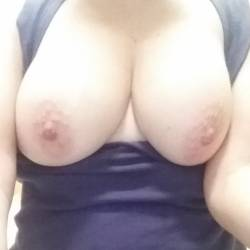 Very large tits of my wife - My MILF