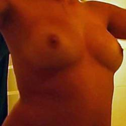 Medium tits of my girlfriend - Julia