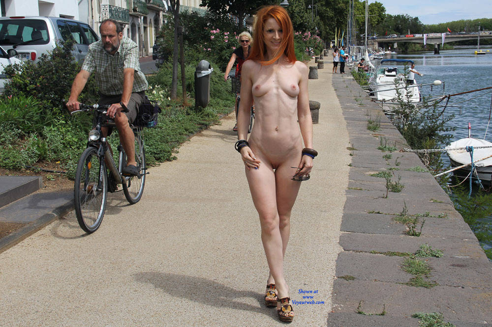 Vienna Holidays - Exposed In Public, Flashing, Nude In Public, Redhead, Shaved , Nude, Redhead, Nude In Public, Sexy, Naked., Flashing