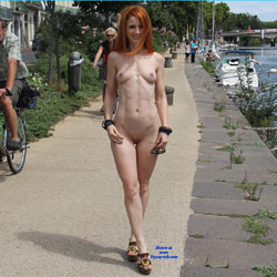 Vienna Holidays - Flashing, Public Exhibitionist, Public Place, Redhead, Shaved