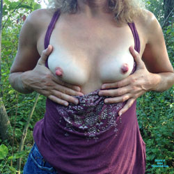 Flashing Farm Girl - Flashing Tits