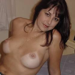Medium tits of a neighbor - Valerie