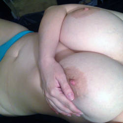 Large tits of my girlfriend - Sandra
