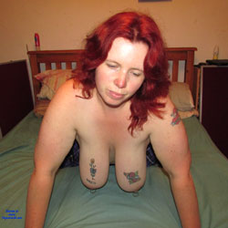 My Wife Naked - Tattoos, Redhead, Big Tits, Wife/Wives