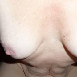 Medium tits of my wife - Kitty