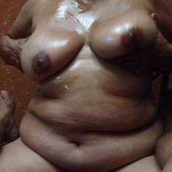 Large tits of a neighbor - Teresa