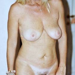 Large tits of my wife - Blonde Milf