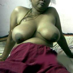 Extremely large tits of my girlfriend - Ananya