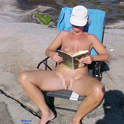 Linda Shows Off Again - Shaved, Beach, Wife/Wives