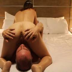 Sexy Play Time In Vegas With RC - Brunette, Girl On Guy, Penetration Or Hardcore