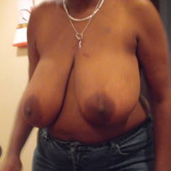 Large tits of my girlfriend - Black Panther