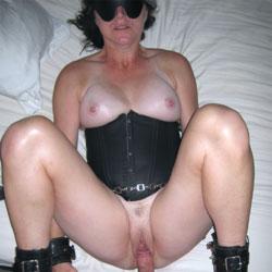 Blindfolded Bondage Fuck And Cum - Pussy Fucking, Penetration Or Hardcore, Big Tits, Shaved