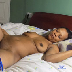 Esther Blue - Ebony, Big Tits, Lingerie