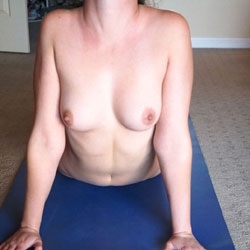 Yoga Time - Big Tits