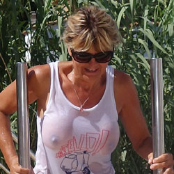 Tee Shirt Mouille - Big Tits, See Through