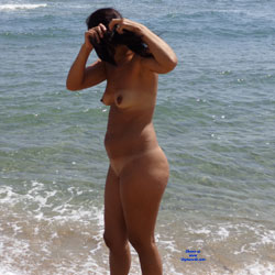 Bulgaria Beach - Beach, Brunette, Wife/Wives